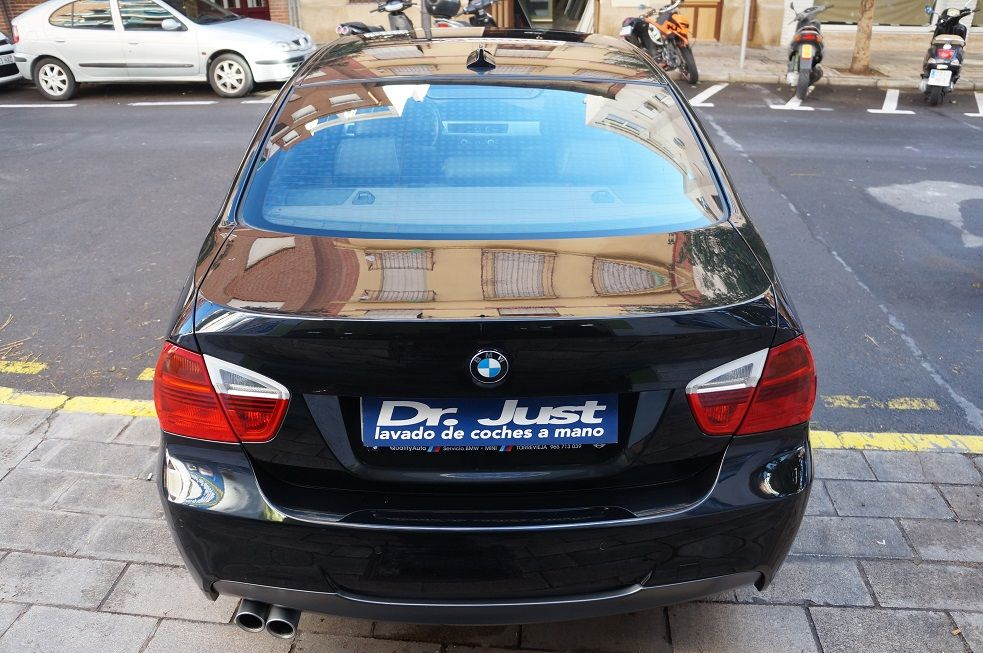 DSC00289 serie 3 - BMW 320 - Detallado Exterior Premium y Tratamiento Cerámico con Gyeon Mohs