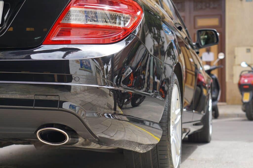 Mercedes Benz C320 - Encerado con Swissvax