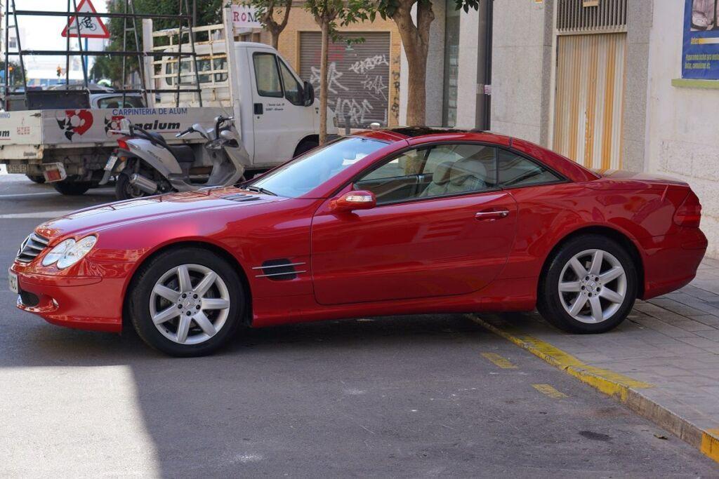 Mercedes SLK 5 1024x683 - Mercedes Benz SLK - Tratamiento de cera de carnauba