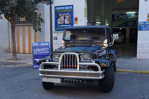 Jeep Wrangler – Limpieza de Mantenimiento