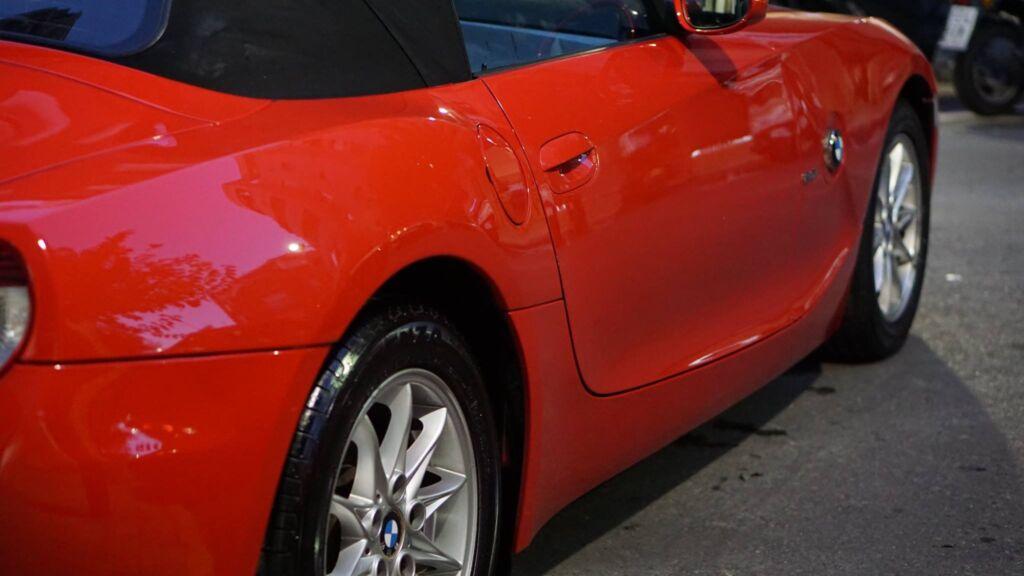 """""""pulido coche bmw z4"""