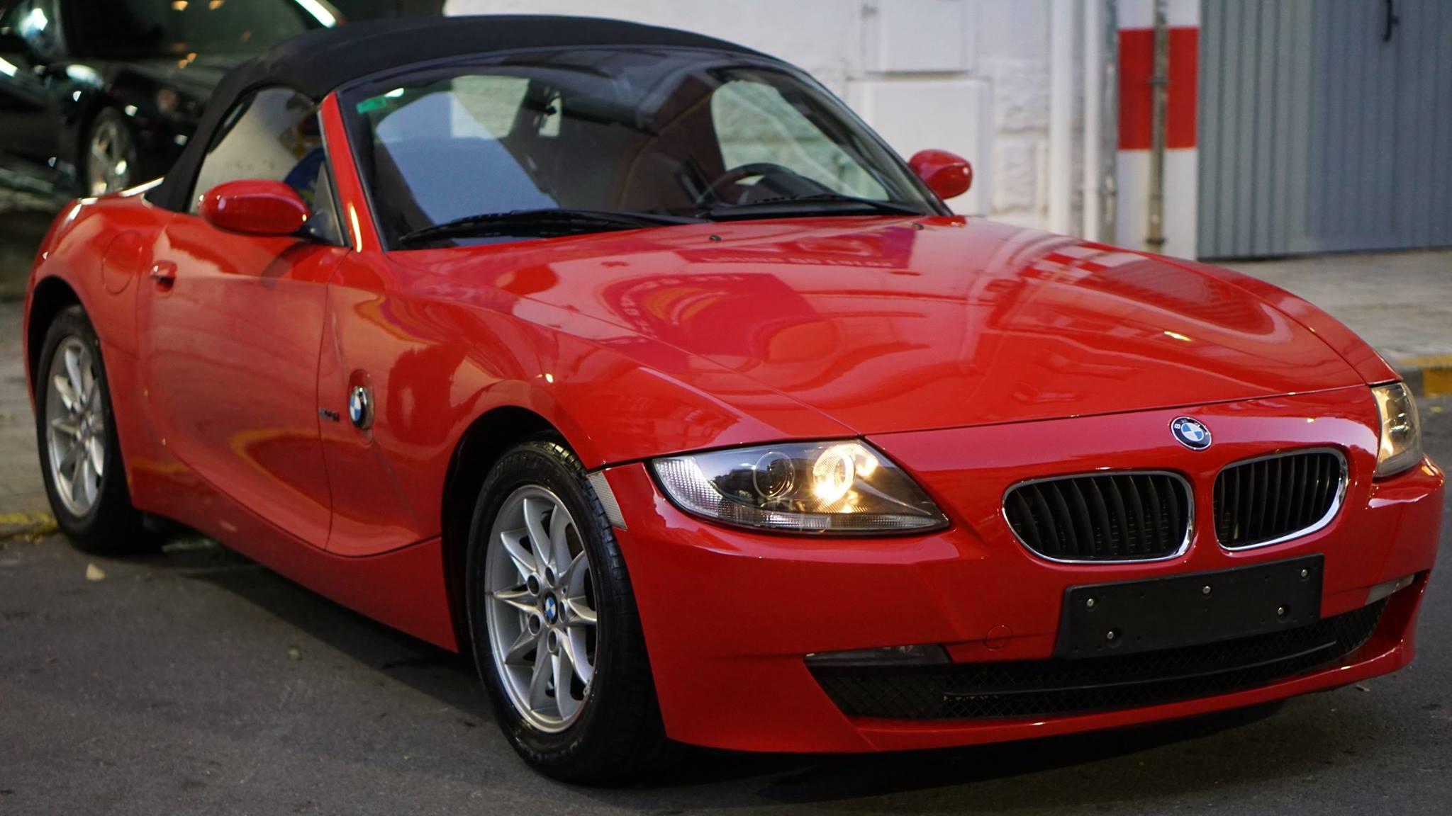 BMW Z4 – Pulido corrección de pintura