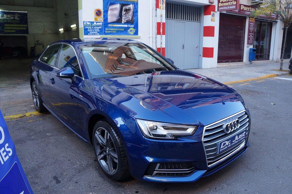 Audi A4 - Coating Ceramico con cQuartz UK