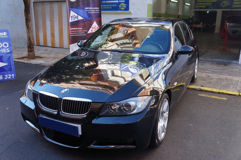 DSC00303 serie 3 - BMW 320 - Detallado Exterior Premium y Tratamiento Cerámico con Gyeon Mohs