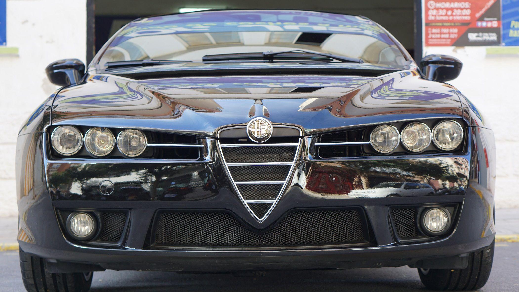 Alfa Romeo Brera – Detallado 1 Step, Pulido y Acondicionamiento de Llantas y Tratamiento de Cera
