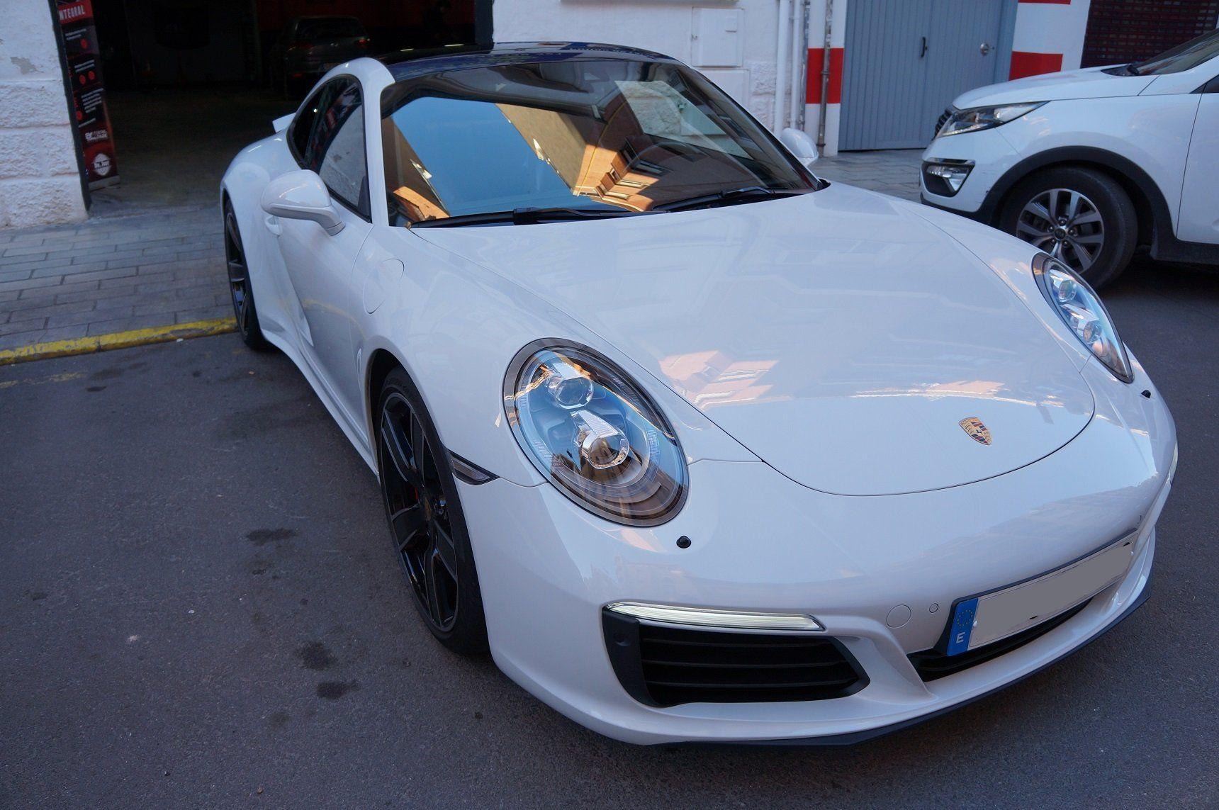 DSC00987 - Porsche 911 4S - Tratamiento Cerámico Gtechniq