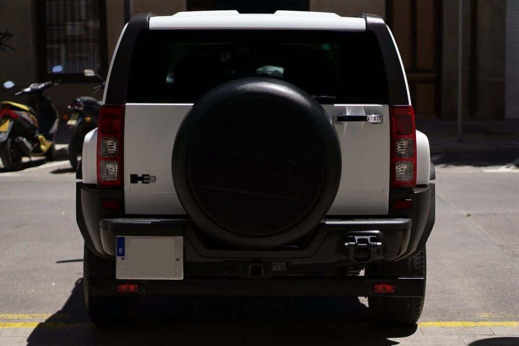 Hummer H3 - Una bestia bien protegido y bien brillante