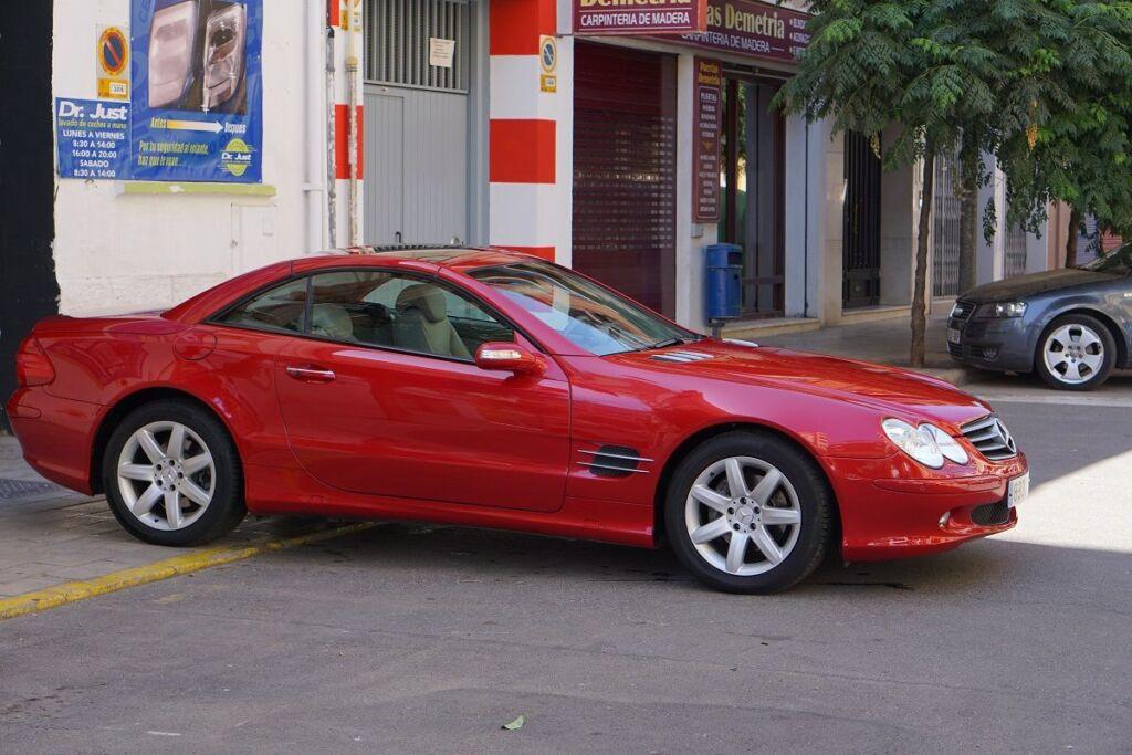 Mercedes Benz SLK - Tratamiento de cera de carnauba
