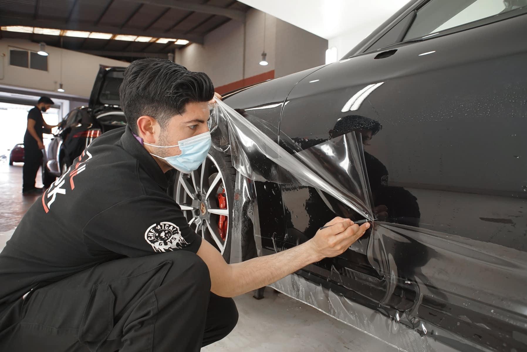Paint Protection Film / Porsche Targa