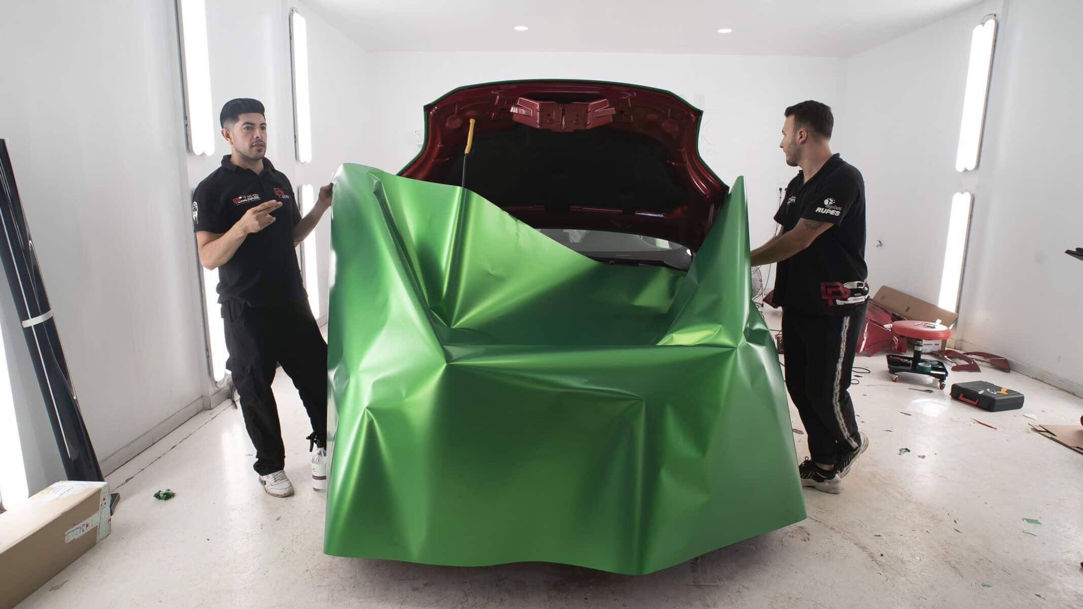 Full Wrap Ford Puma – de Rojo a Verde