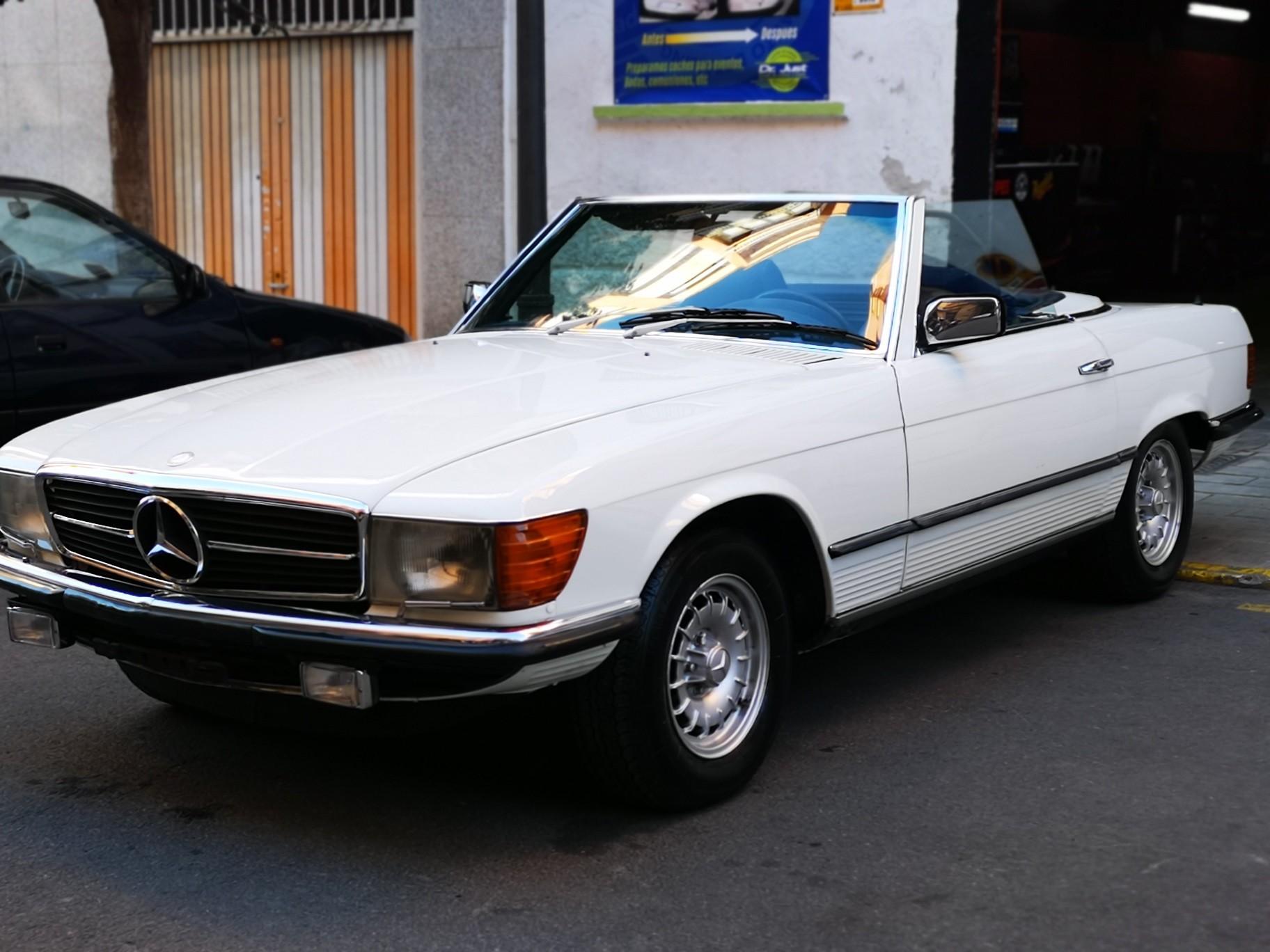 Detallado Clásico - Mercedes 450 SL
