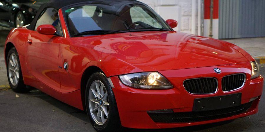 Pulido BMW Z4 en Detail Park