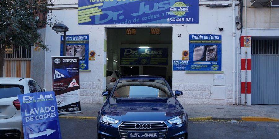 Tratamiento Cerámico en Audi A4 Detail Park